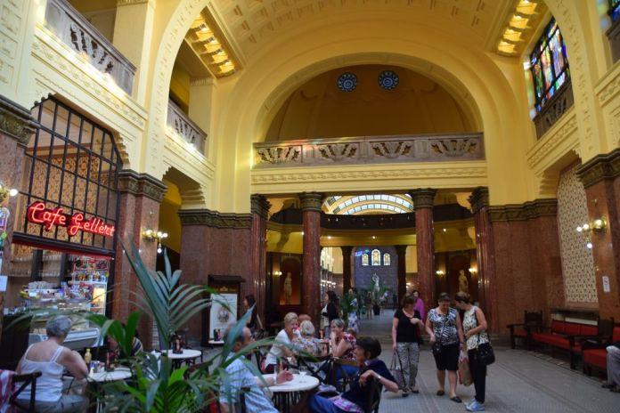 café Gellert Budapest Hongrie Hungary