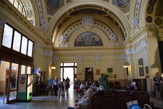 entrée principale bains szechenyi Budapest Hongrie Hungary
