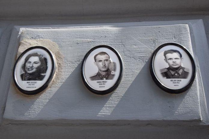 portrait Maison de la terreur Budapest Hongrie Hungary
