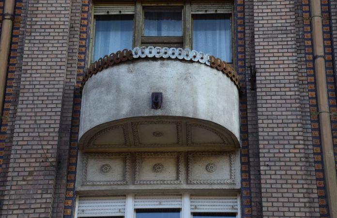 balcon maison Roth Oradea Roumanie