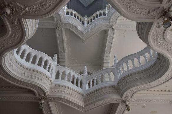 volutes musée arts décoratifs Budapest Hongrie Hungary