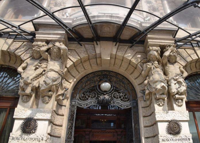 hôtel New York Café Budapest Hongrie Hungary