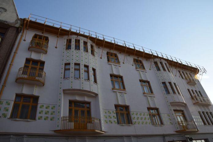 Palais Adolf & Fils Moskovits Oradea Roumanie légèreté