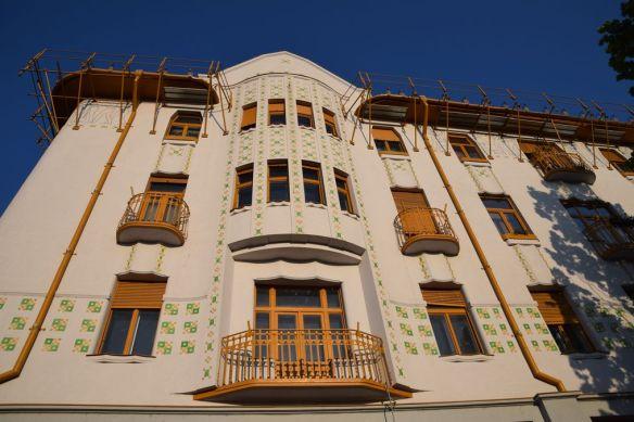 descentes d'eau Palais Adolf & fils Moskovits Oradea Roumanie