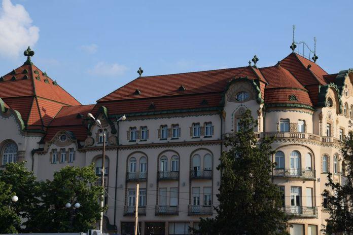 Aigle noir Art nouveau Oradea Roumanie