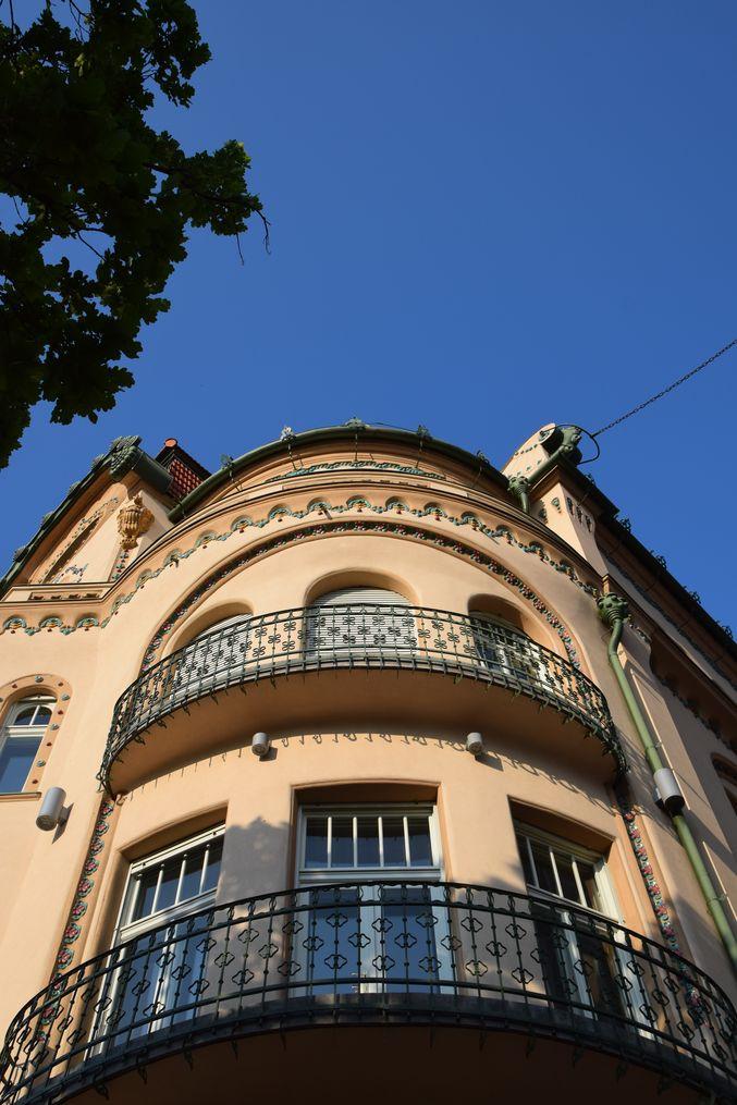 angle rondeur Aigle noir Oradea Roumanie
