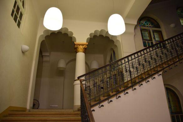 cage d'escalier Digi24 Oradea Roumanie