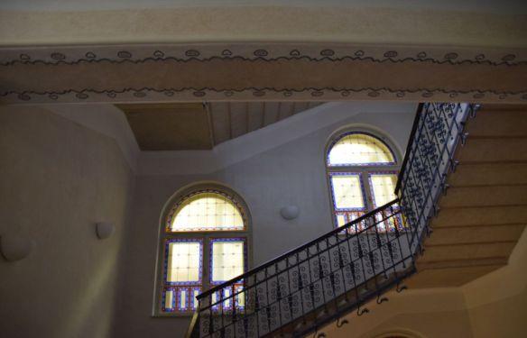 vitraux frises Oradea Digi24 Aigle noir Oradea Roumanie