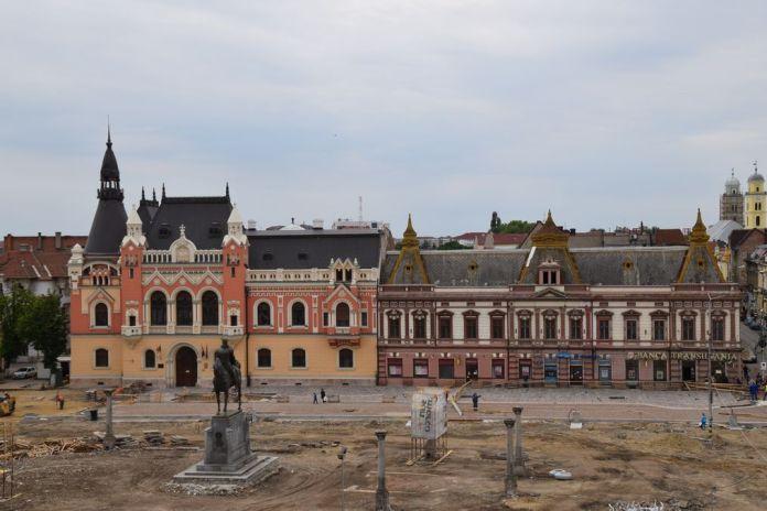 palais épiscopal grec catholique Oradea Roumanie