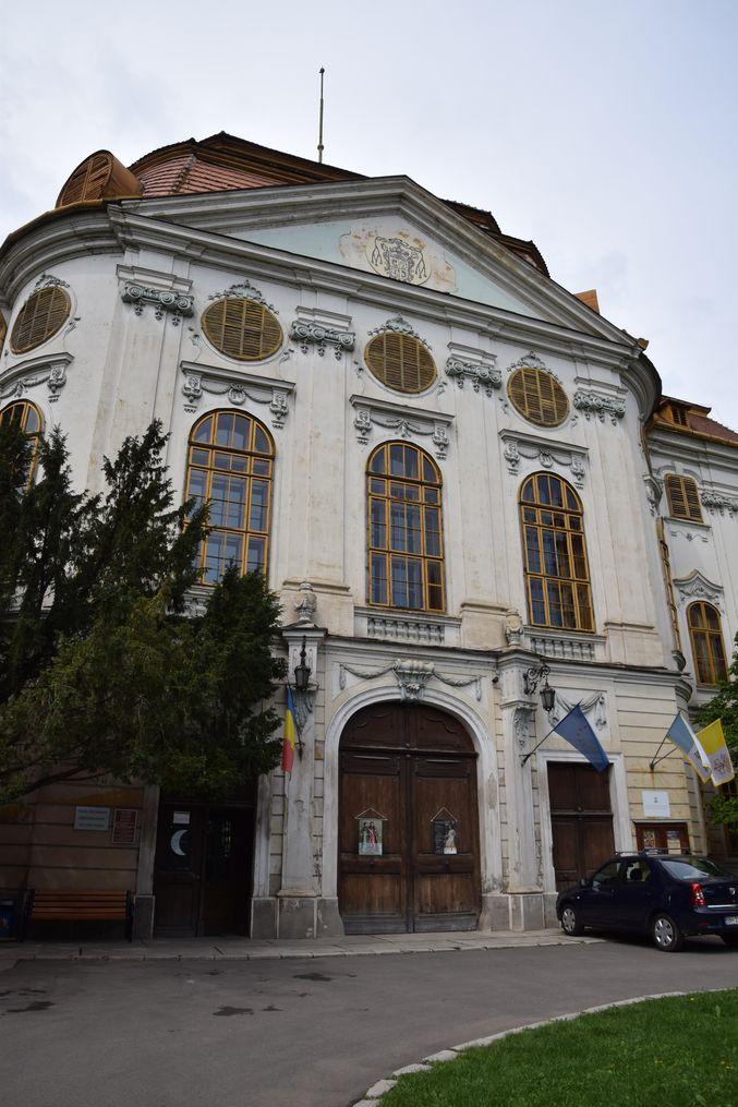 palais épiscopal catholique Oradea Roumanie