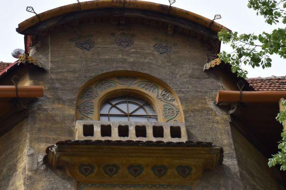 motifs folklorique Palais Stern Oradea Roumanie