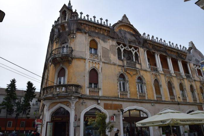 Europe centrale Palais Rimanoczy Kalman senior Oradea Roumanie