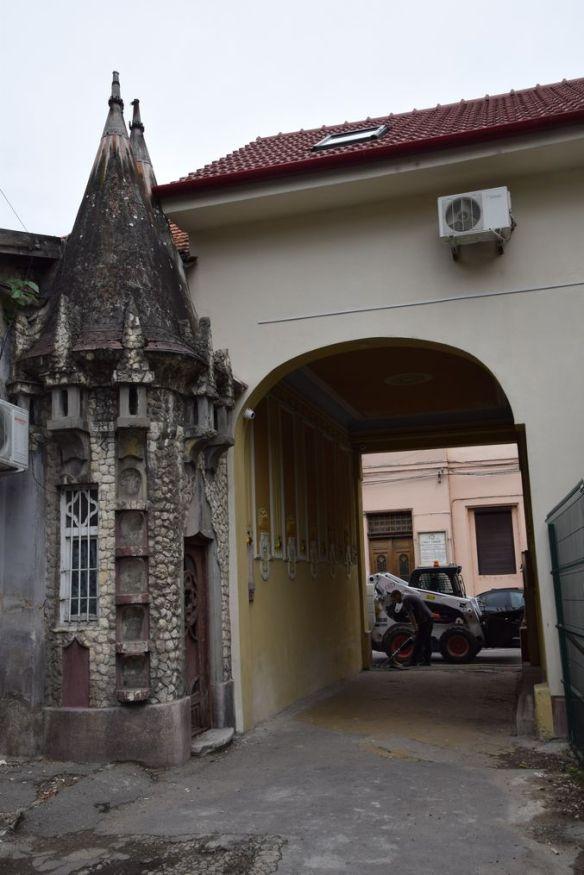 tourelle hôtel Parc Oradea Roumanie