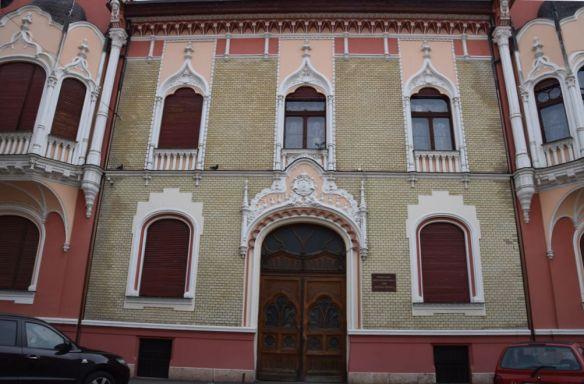Ouvertures Palais Rimanoczy Oradea Roumanie