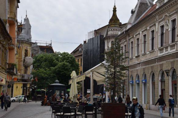 rue Republicii Oradea Roumanie cafés