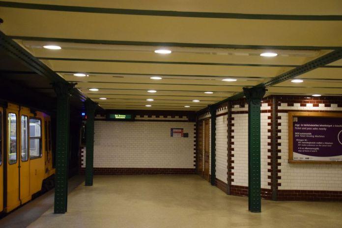 ligne 1 métro Budapest Hongrie Hungary