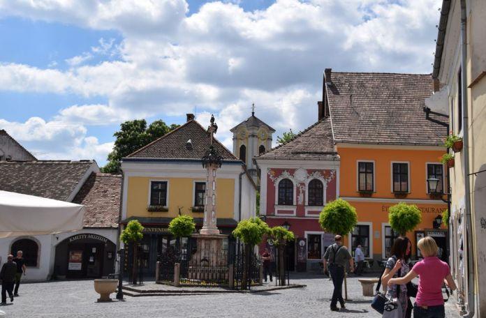 place Fo au coeur de Szentendre Hongrie
