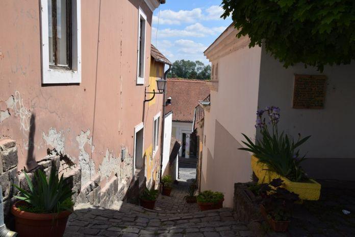 passage escalier Szentendre Hongrie