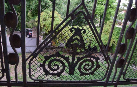 balcon ferronnerie Villa Darvas-Laroche Oradea Roumanie