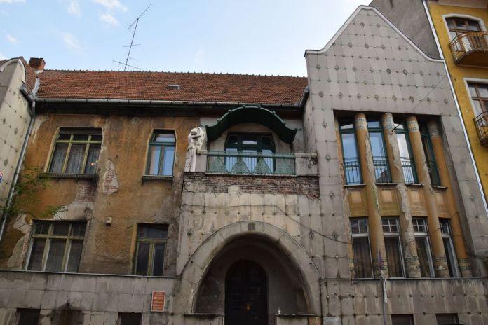 partie centrale villa Darvas-Laroche Oradea Roumanie