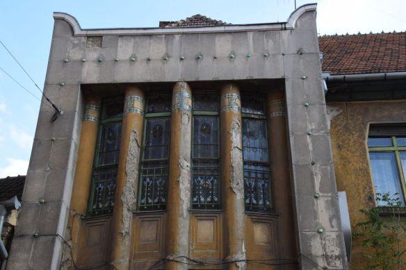 vitraux colonnes Darvas Laroche Oradea