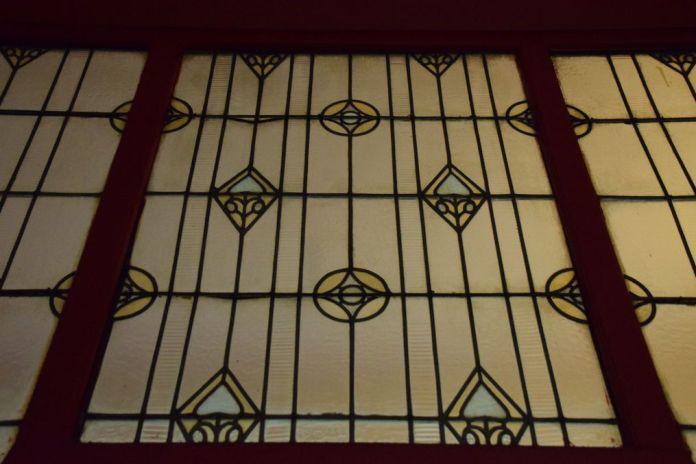 vitraux détail Darvas-Laroche Oradea Roumanie