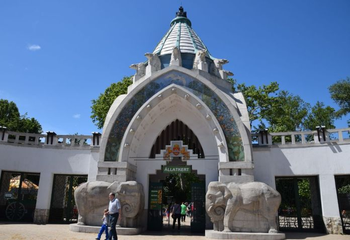 zoo Budapest Hongrie Hungary