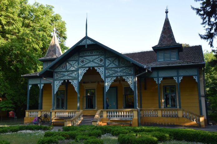 bureau de post Palic Serbie