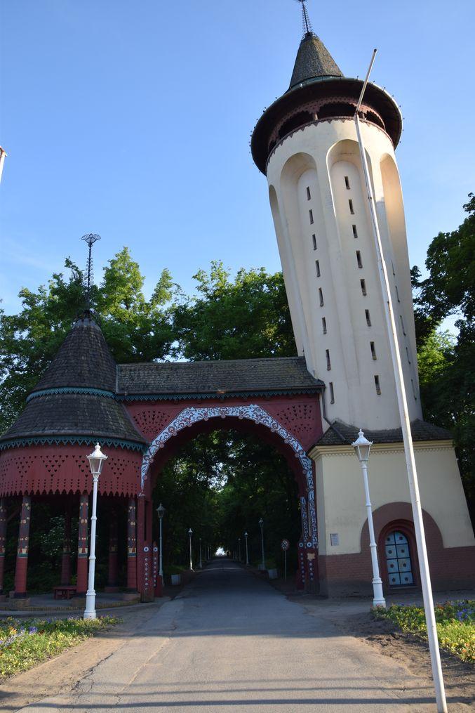 Palic Château d'eau Serbie.