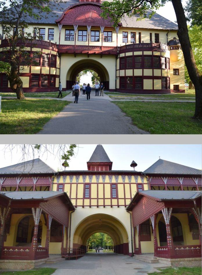 bâtiment central Palic Serbie