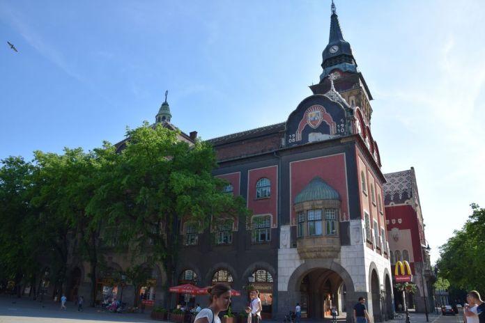 mairie Subotica Serbie