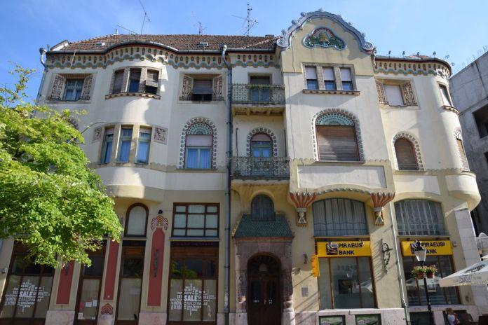 palais de la caisse d'épargne Subotica Serbie