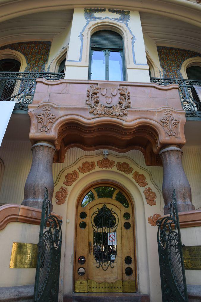 entrée Palais Raichle Subotica Serbie