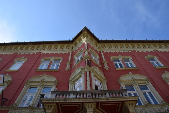 inspiration vénitienne Subotica Serbie