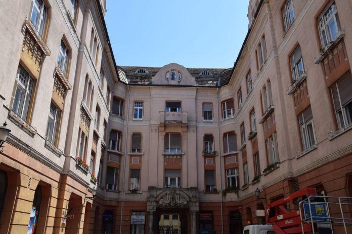 immeuble appartements Szeged Hongrie