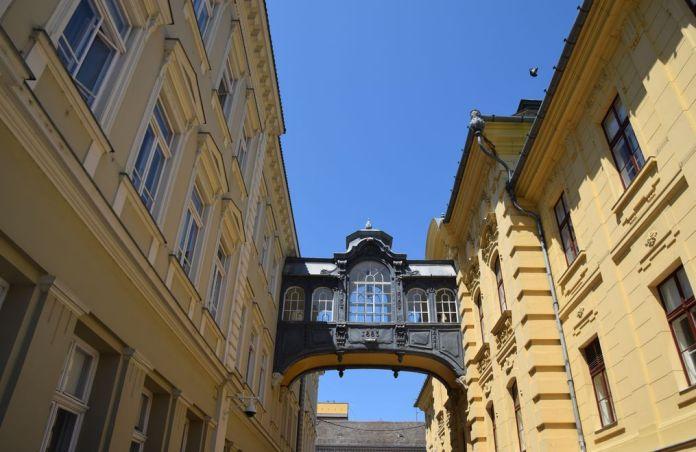 pont des soupirs Szeged Hongrie
