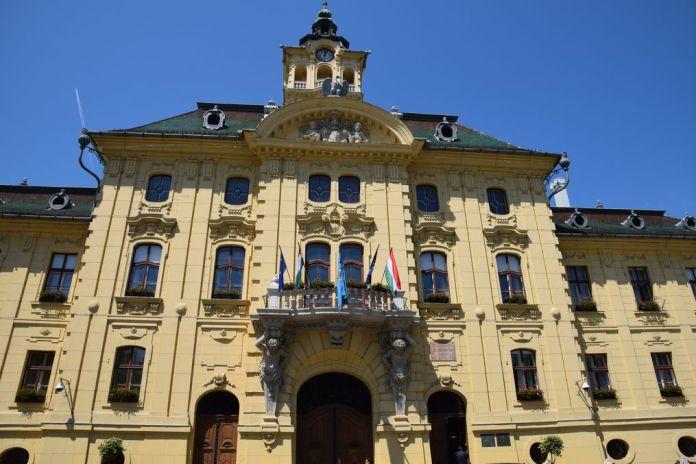 mairie de Szeged Hongrie