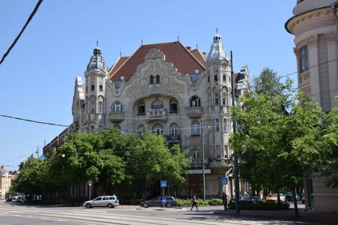 Palais grof boulevard Tisza Lajos Szeged Hongrie