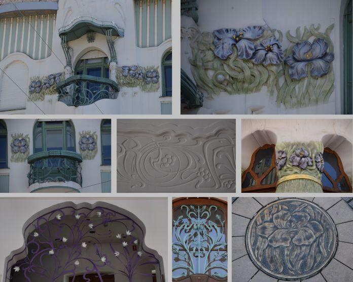 fleurs Palais Reok Szeged Hongrie