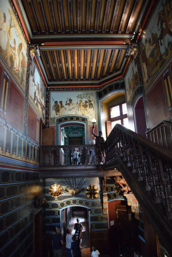 escalier Abbadia Hendaye