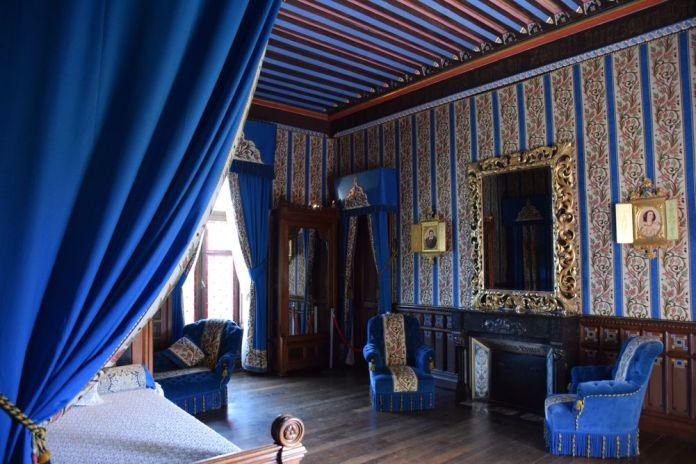 chambre bleue Abbadia Hendaye
