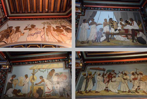 fresques Abbadia hendaye