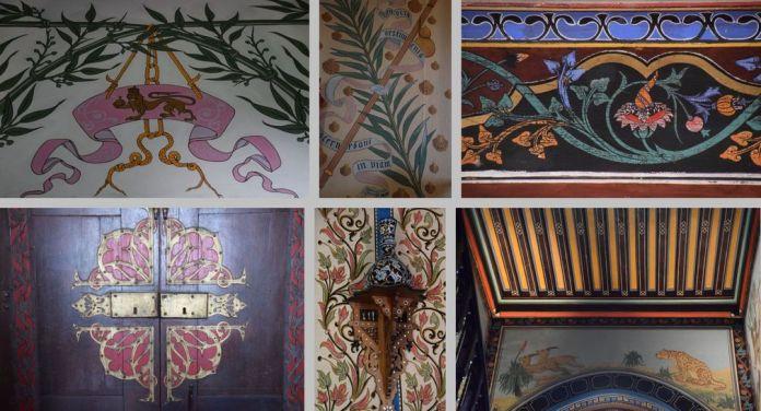 motifs décoratifs Abbadia Hendaye