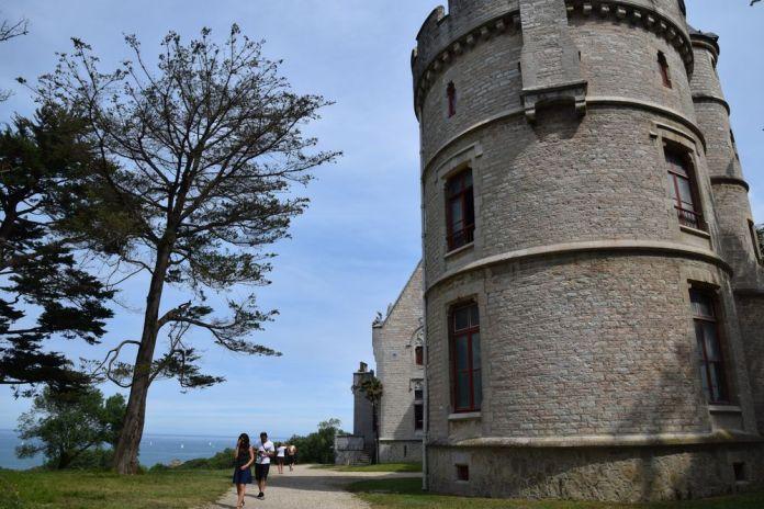 tour château Abbadia Hendaye
