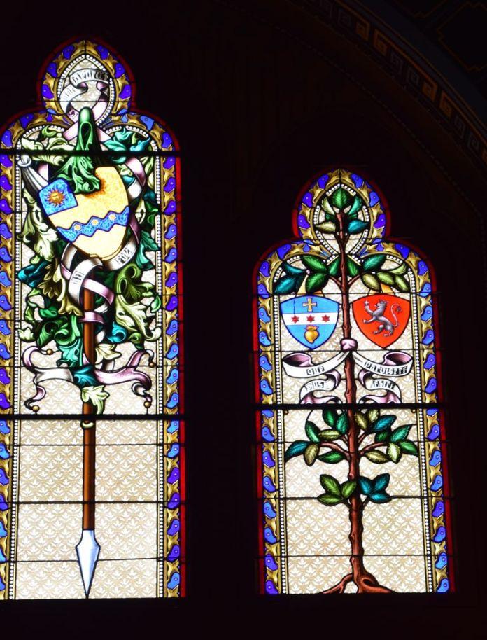 vitraux Abbadia Hendaye