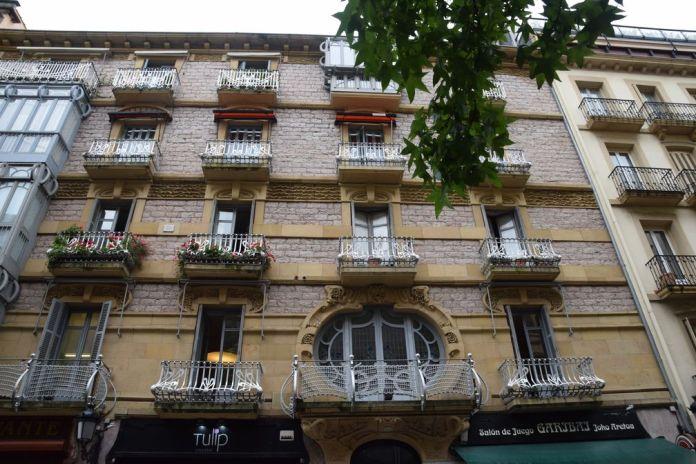 maison ramon cortazar calle Garibay, Saint-Sébastien, Donostia Espagne
