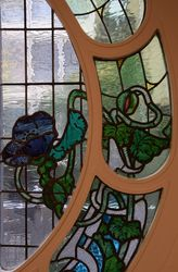 vitraux Mauméjean boiseries Saint-Sébastien Donostia