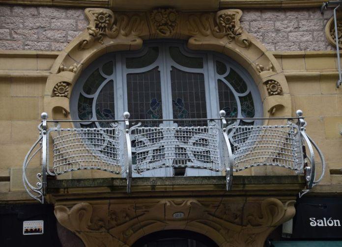 balcon calle Garibay Saint-Sébastien, Donostia