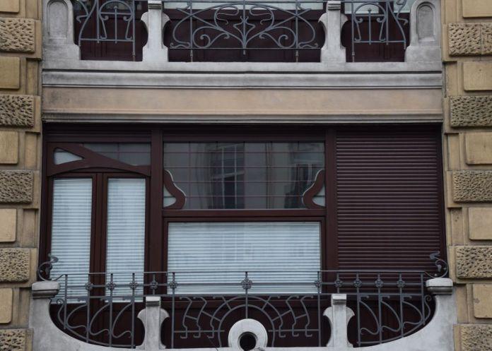 fenêtre calle zubieta Saint-Sébastien Donostia