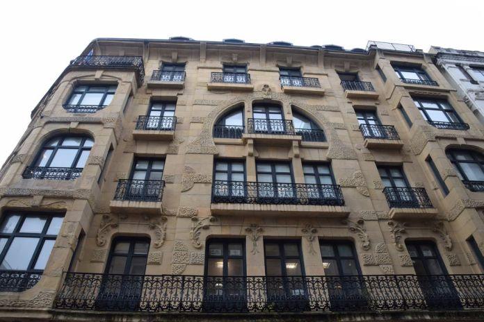 immeuble quartier san martin Saint-Sébastien, Donostia
